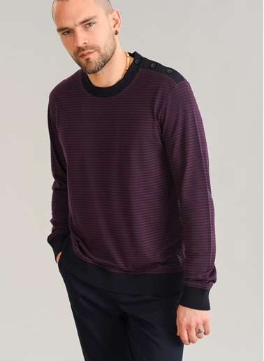 People By Fabrika Sweatshirt Bordo